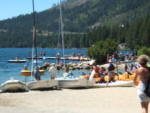Tahoe Donner Beach club