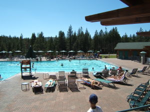 Tahoe Donner pool facility